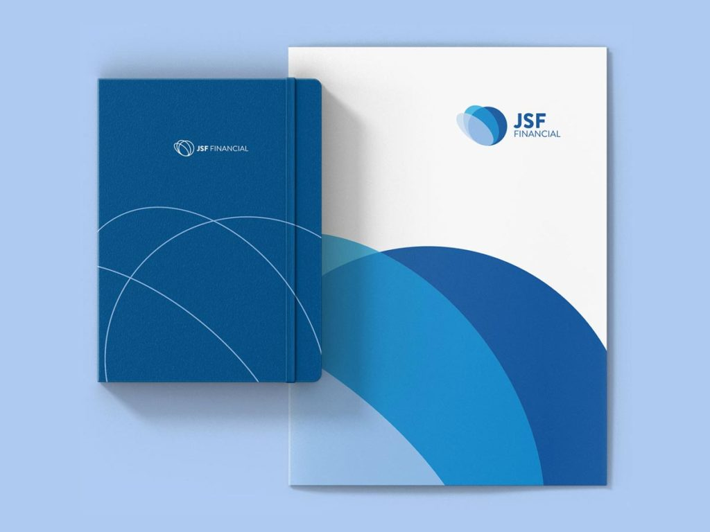 Jsf financial folder notebook