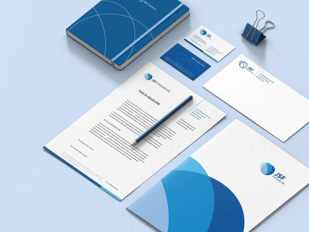 Jsf financial print applications