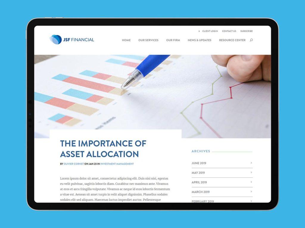 Jsf financial website1