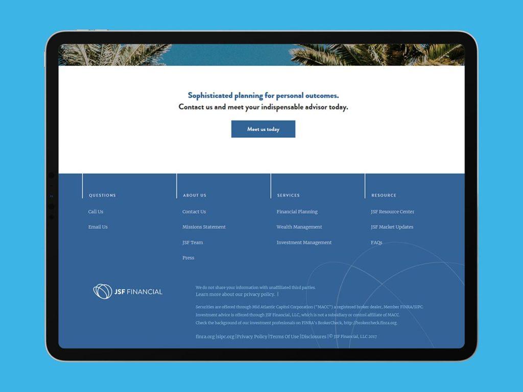 Jsf financial website3