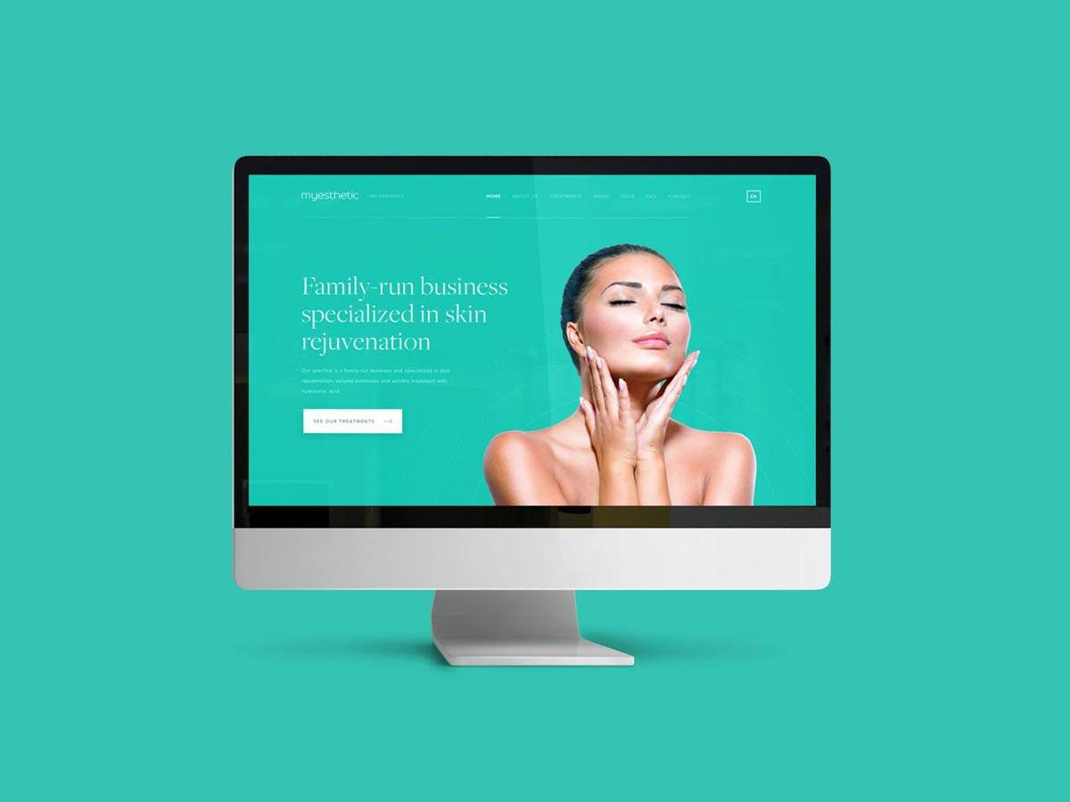 My esthetic webdesign