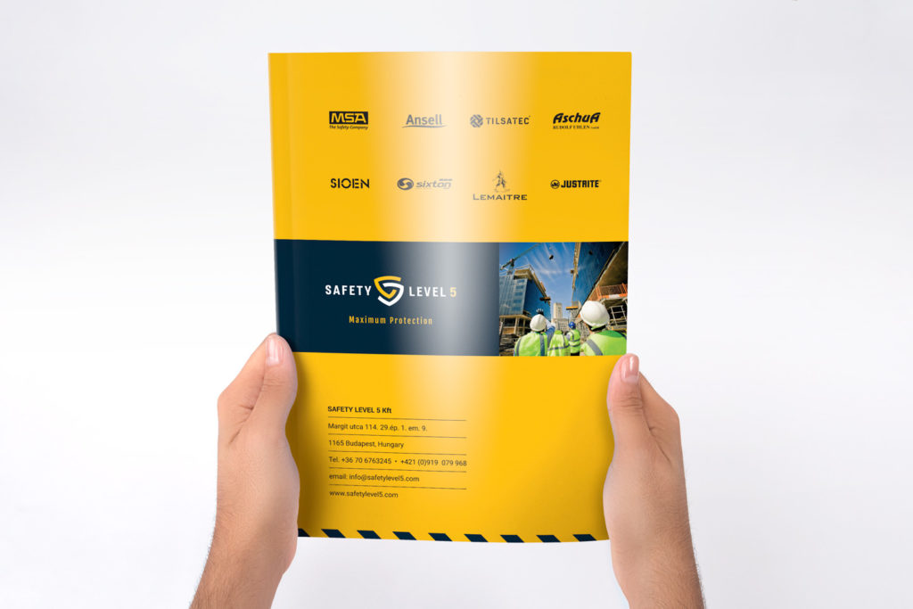 Safety level 5 catalogue cover3