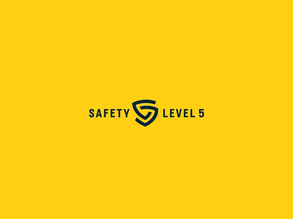 Safety level 5 logo2
