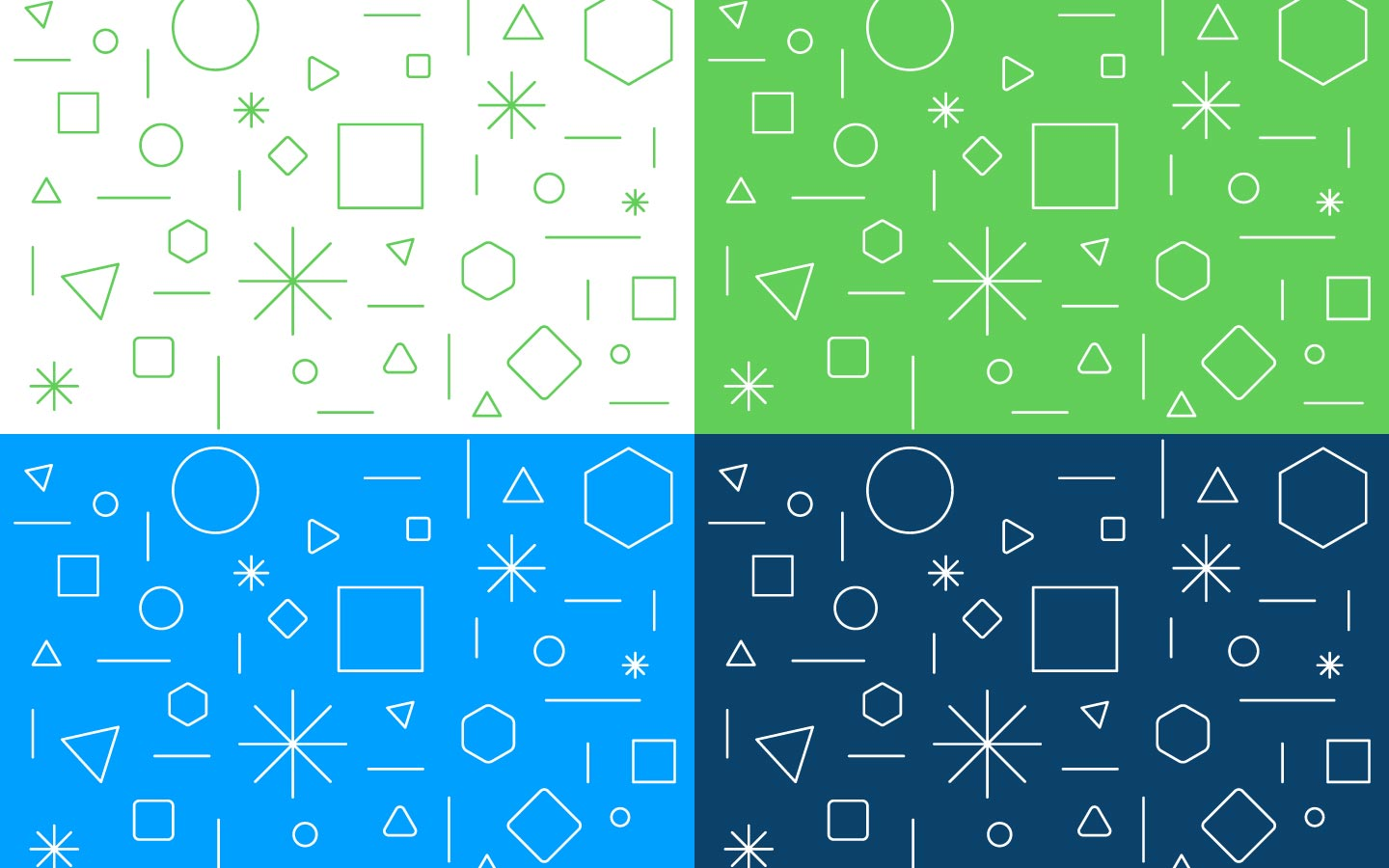Youth innovation center brand pattern