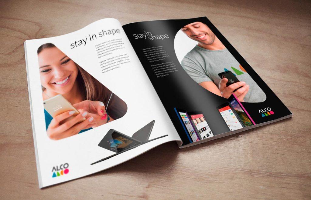 Alco rebranding case study ads