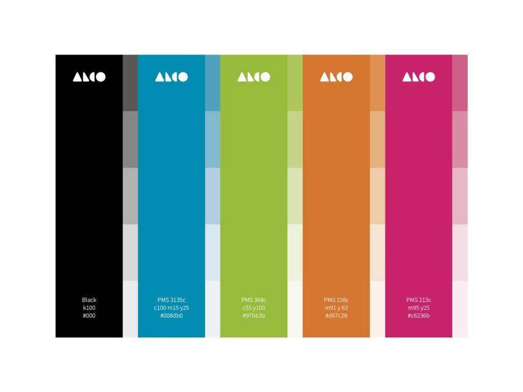 Alco rebranding case study colors