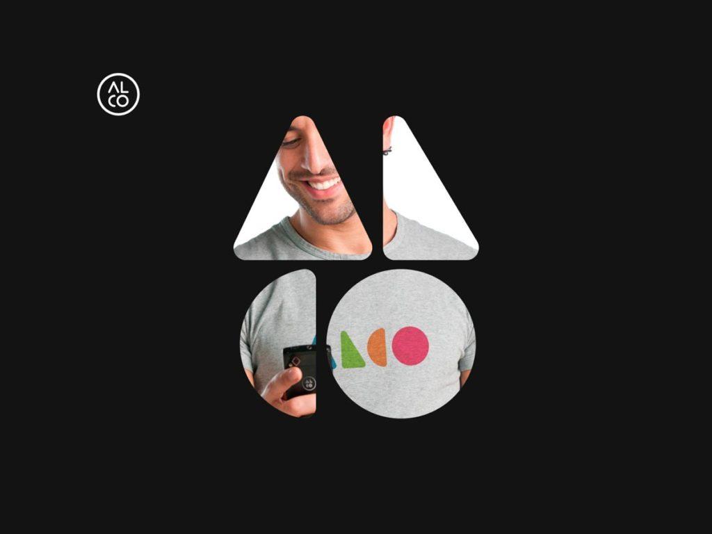 Alco rebranding case study icon application