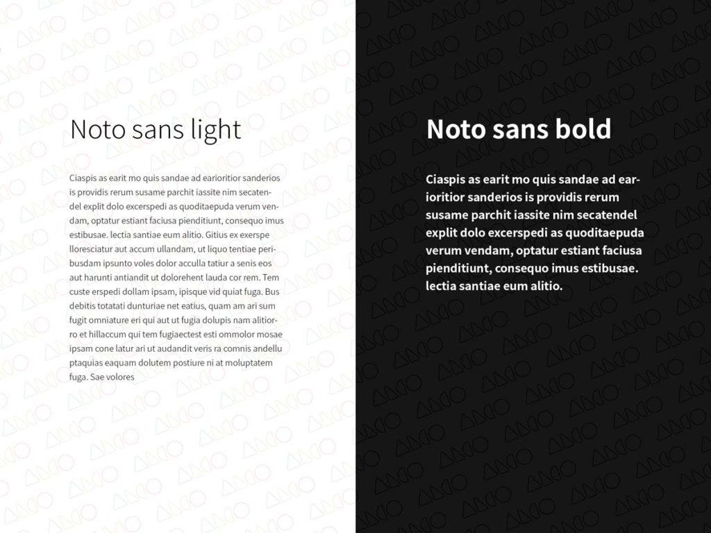 Alco rebranding case study typography