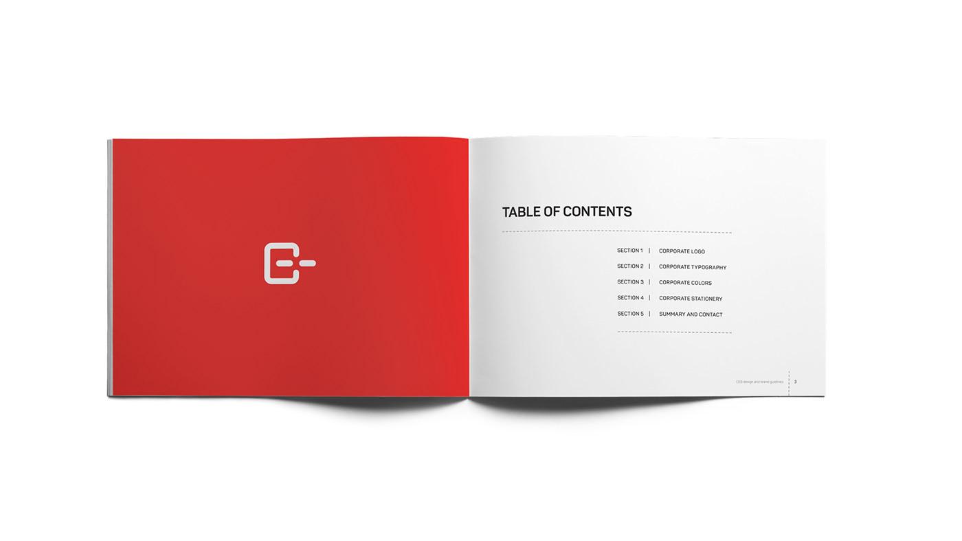 Ceb brand manual index