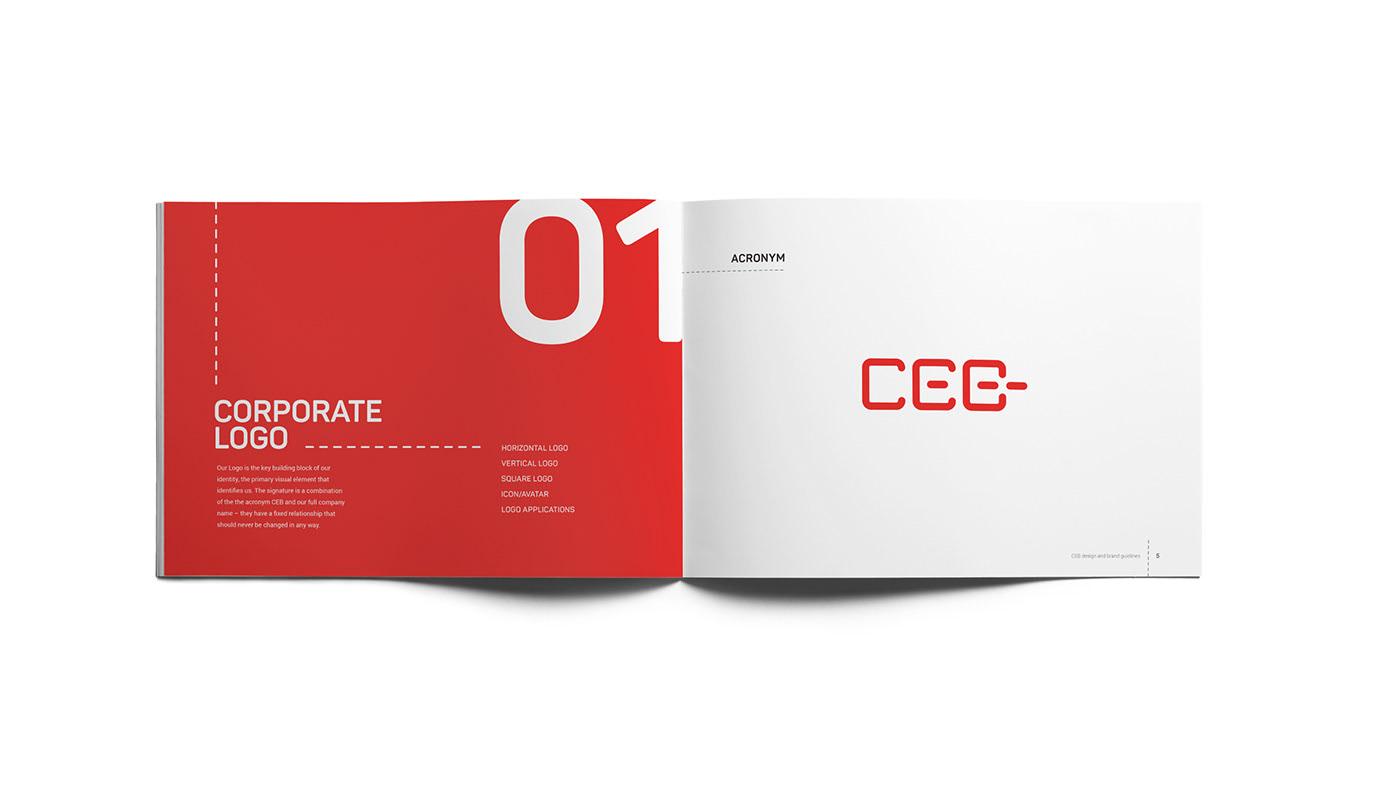 Ceb brand manual logo