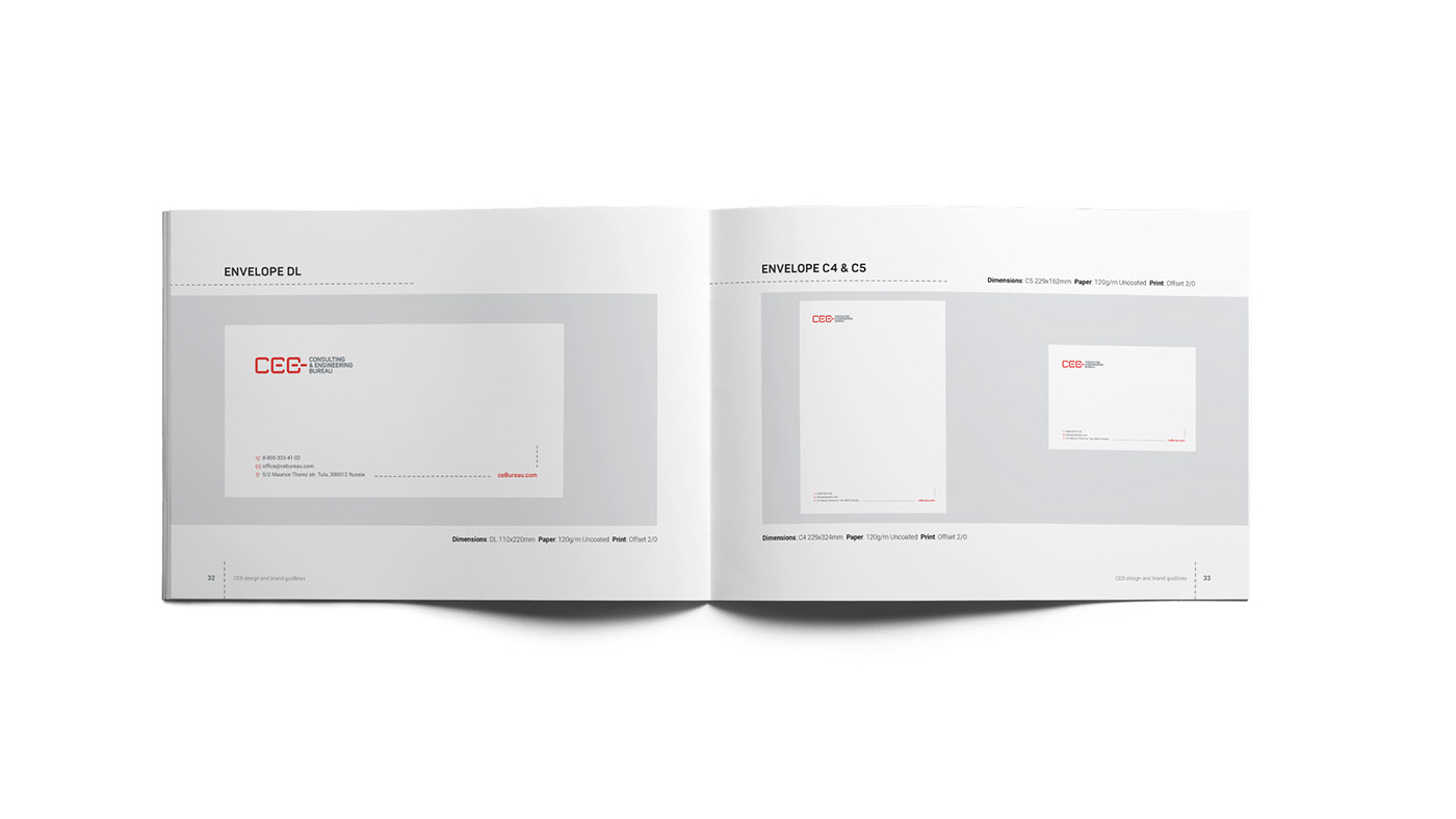 Ceb brand manual stationary