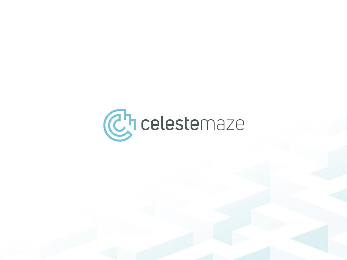 Celeste maze logo