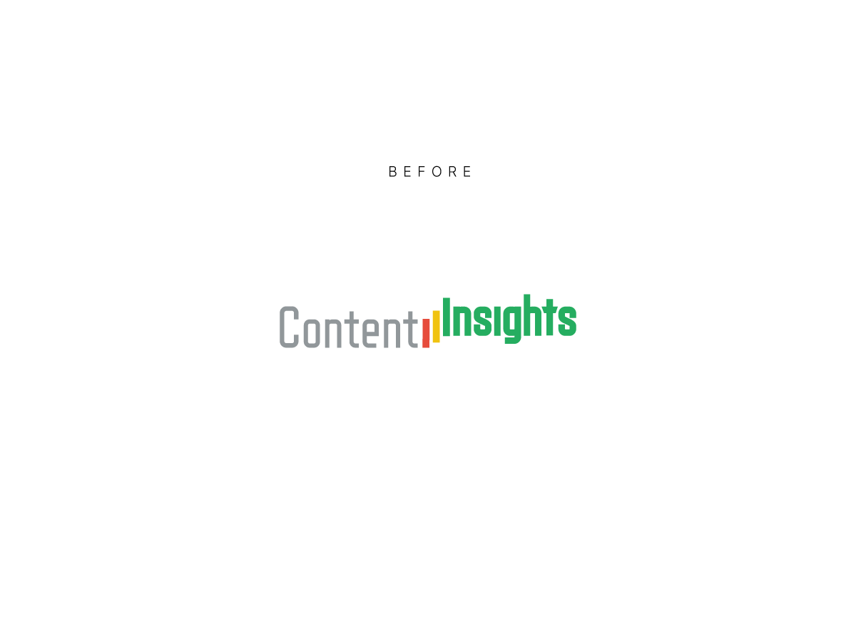 Content insights logo before