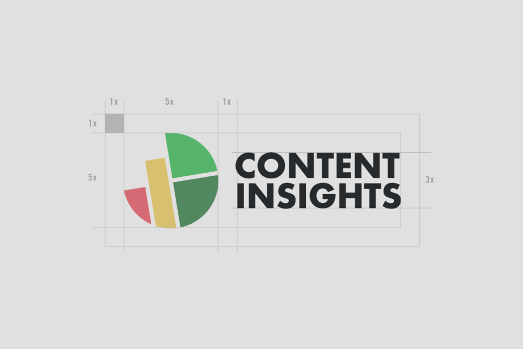 Content insights primary logo construction