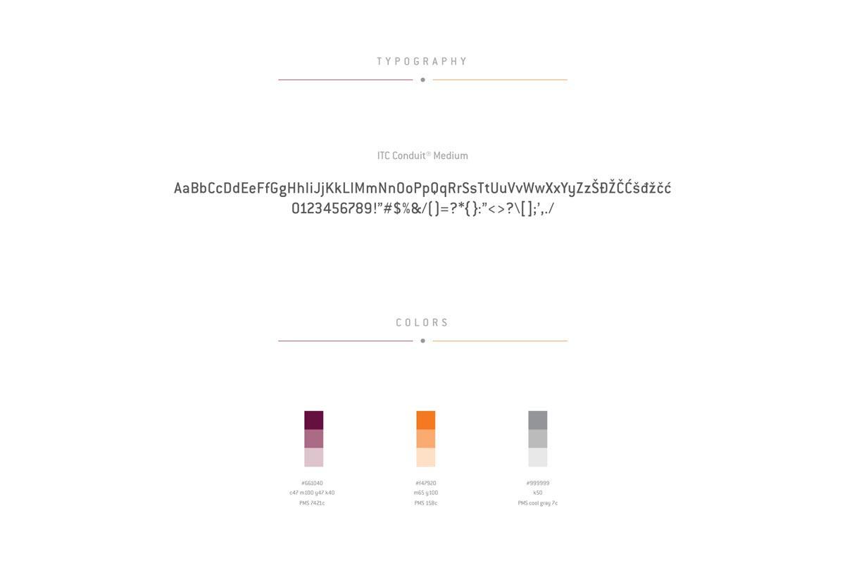 Digitalizuj me typography colors