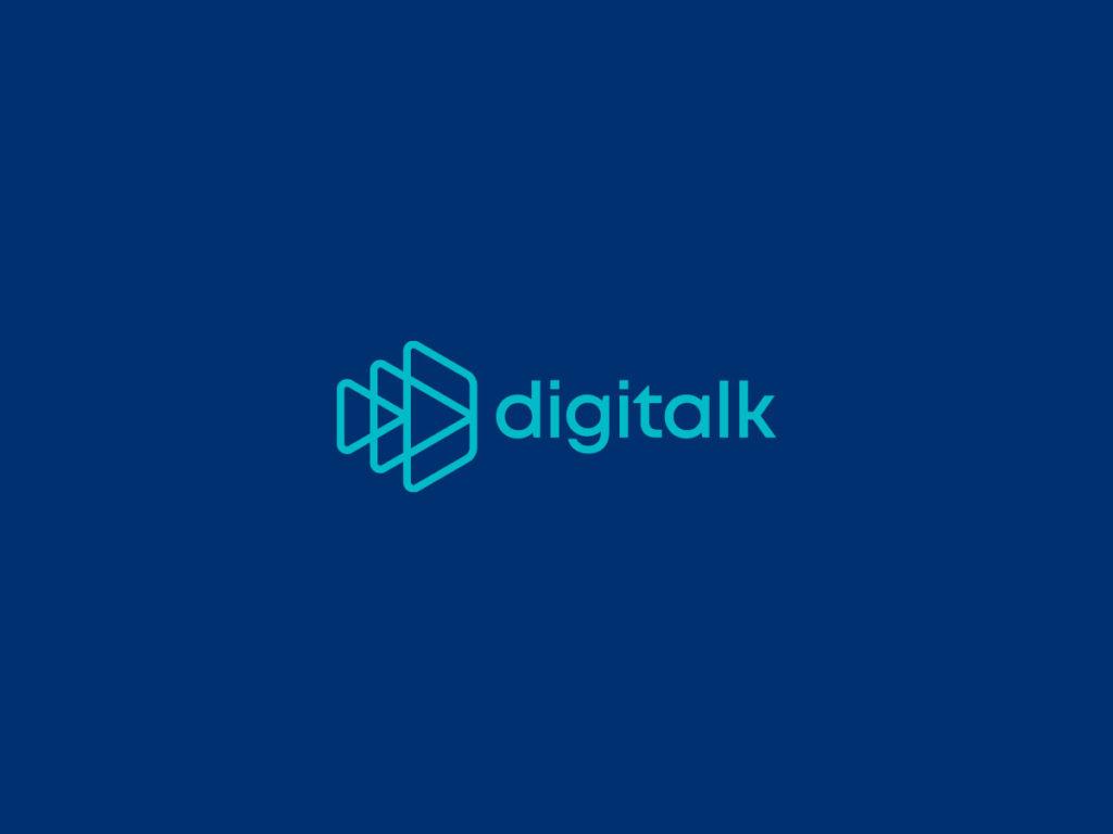 Digitalk logo 2colors