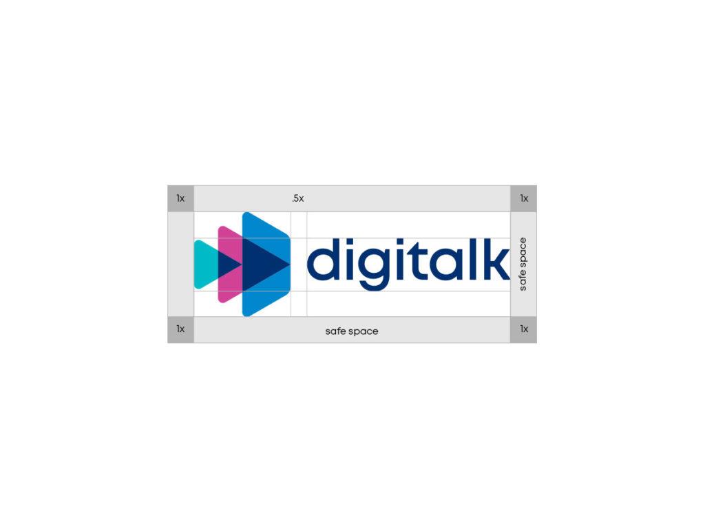 Digitalk logo construction