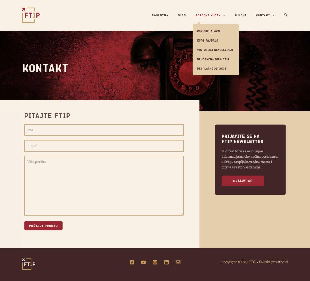 Ft1p website kontakt