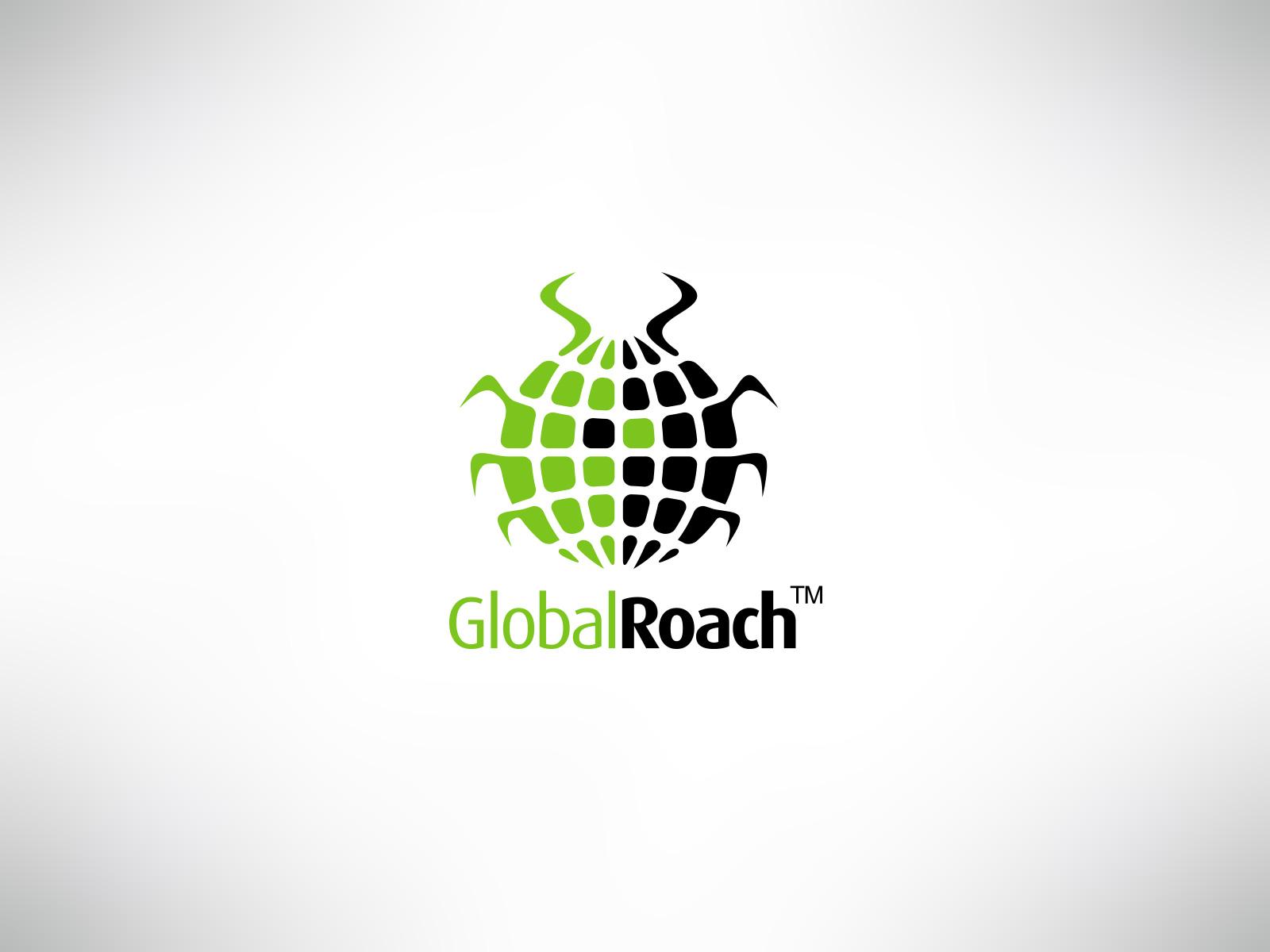 Global roach logo
