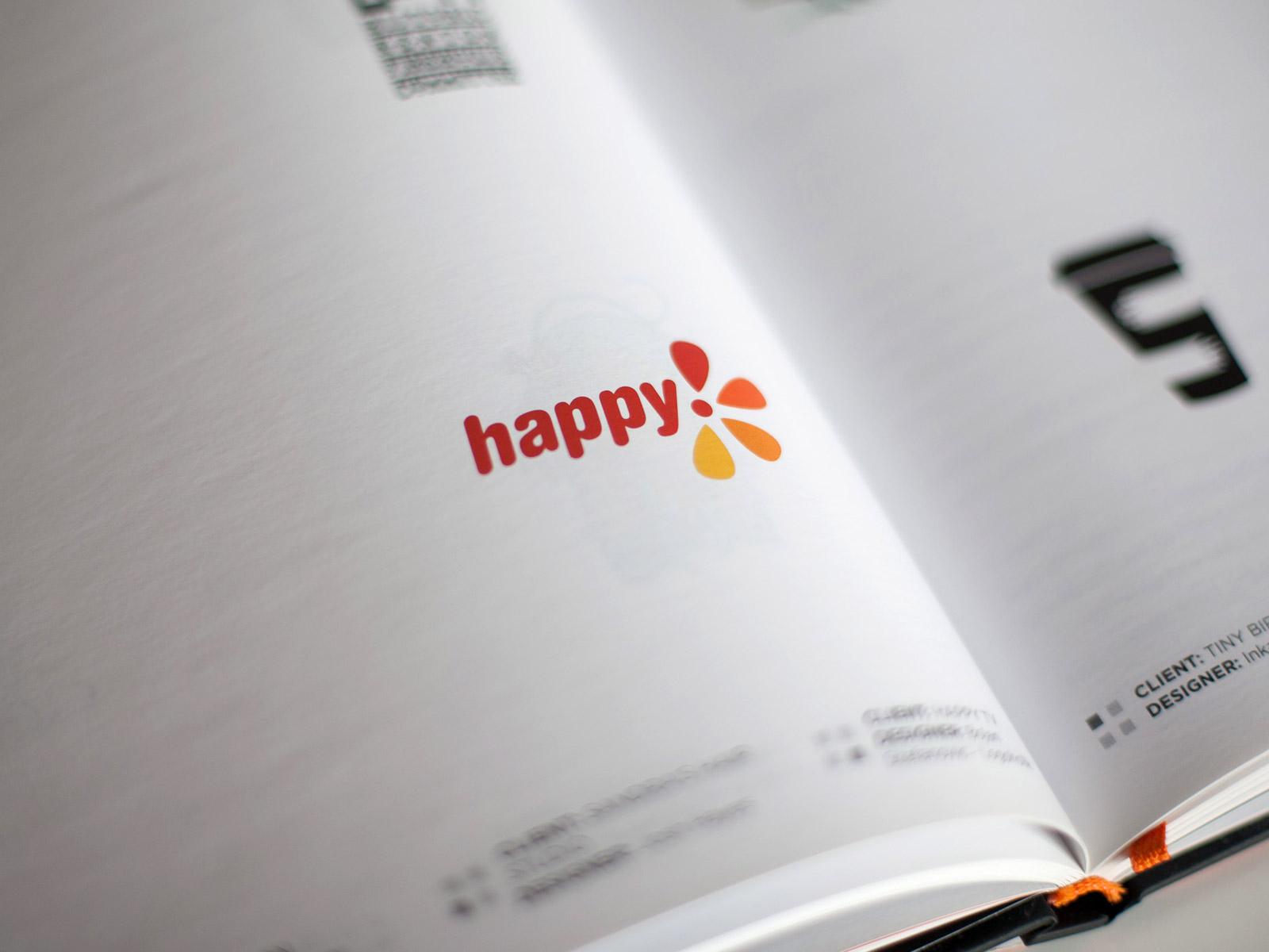 Happy tv published logo design