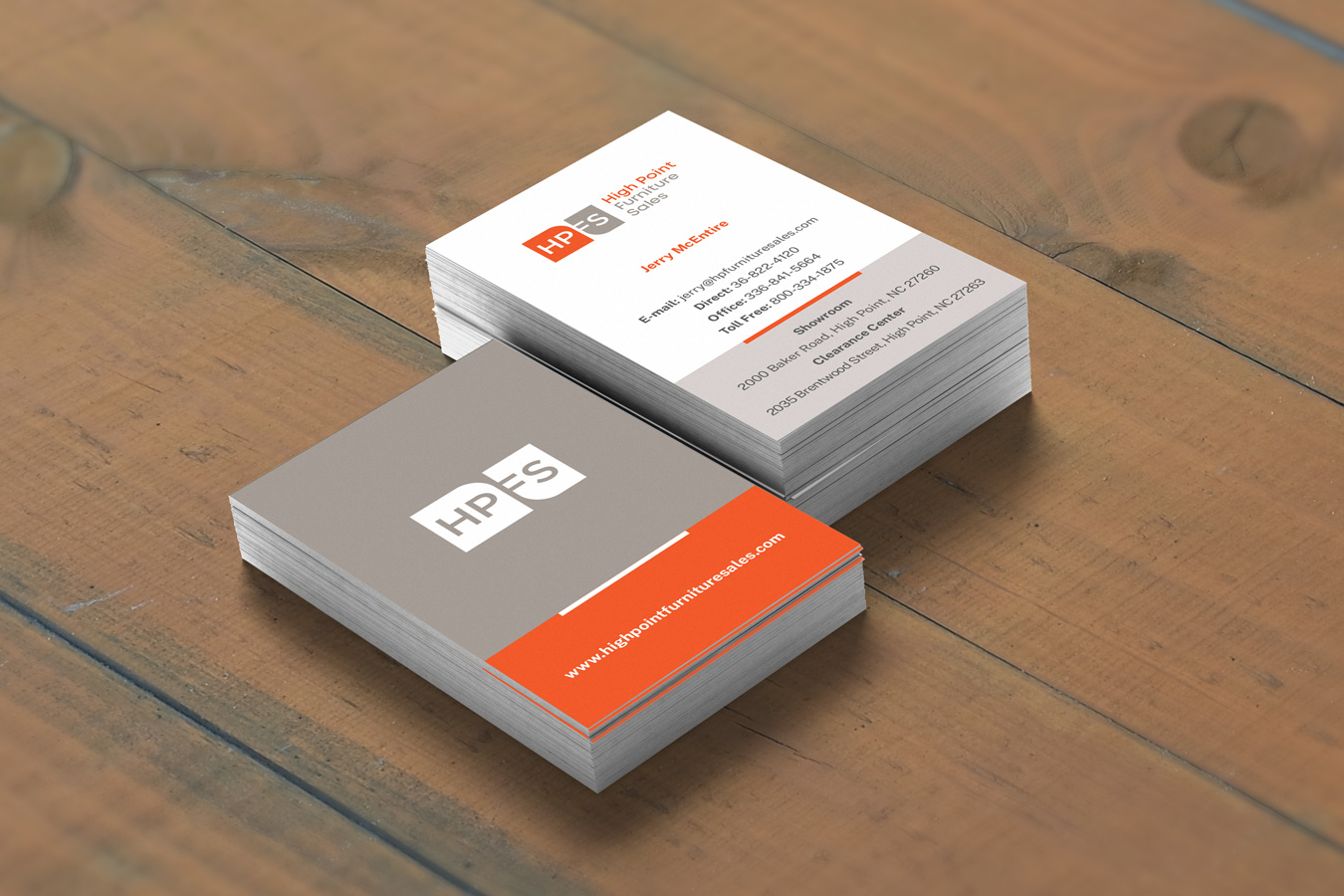 Hpfs business cards