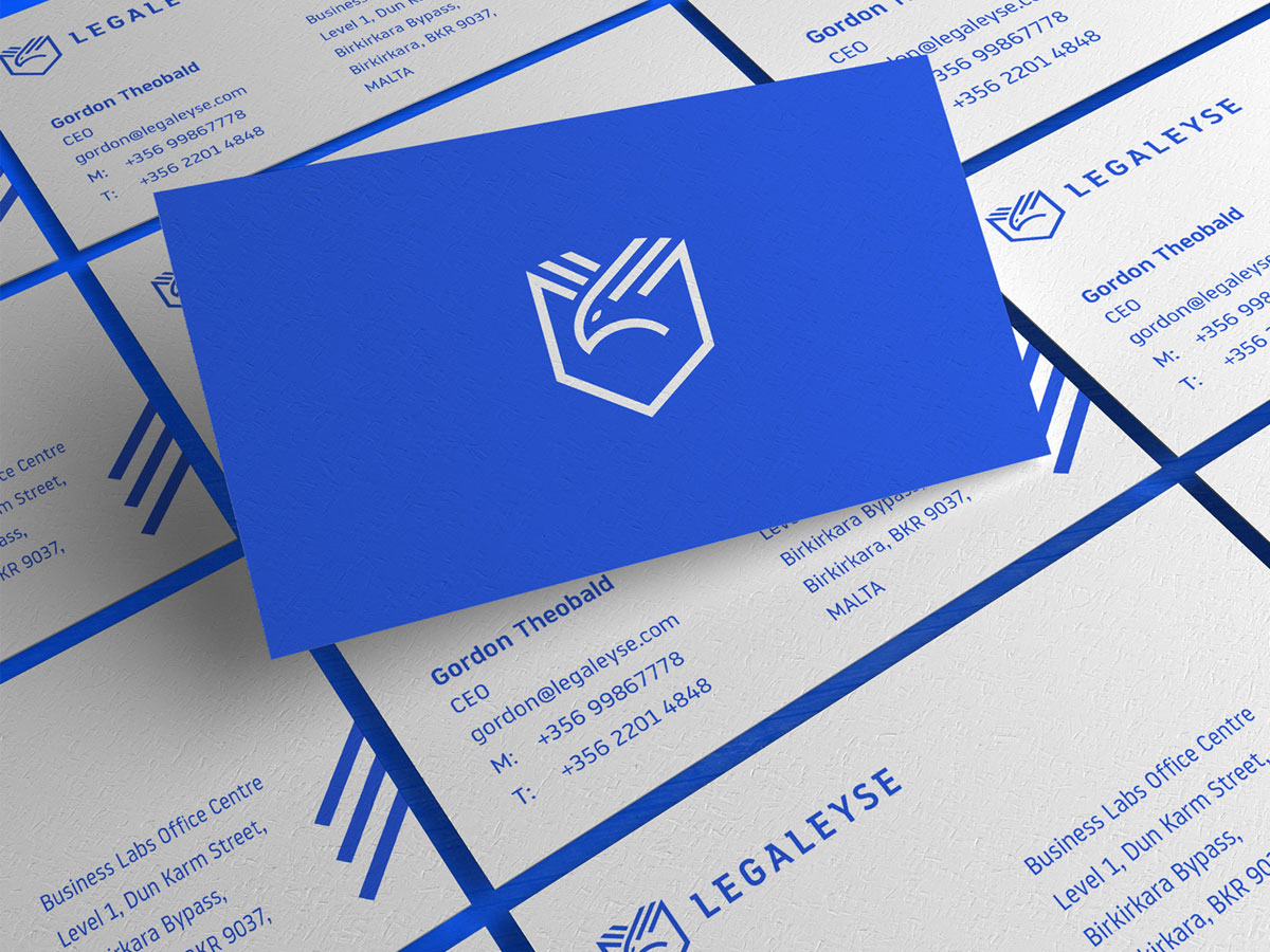 Legaleyse business cards