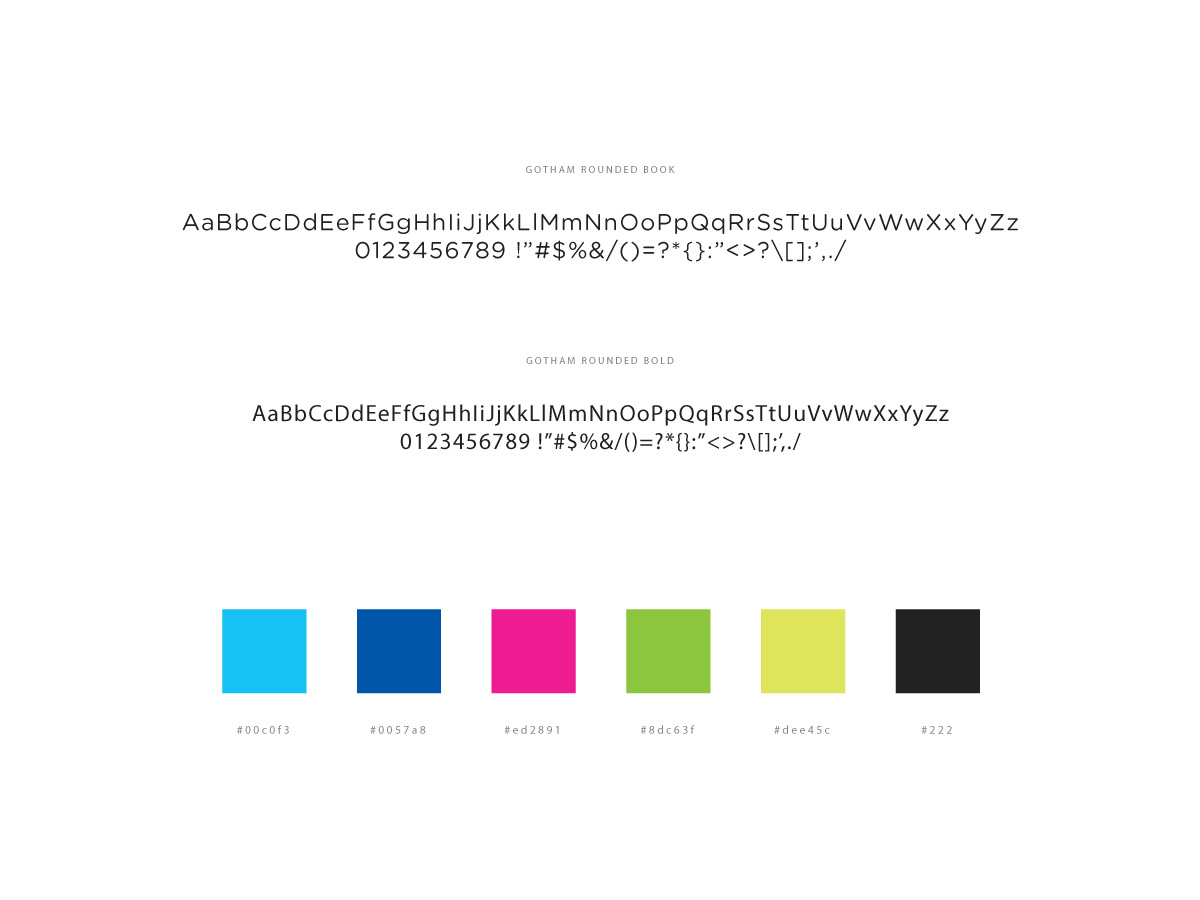 Nemai typography colors