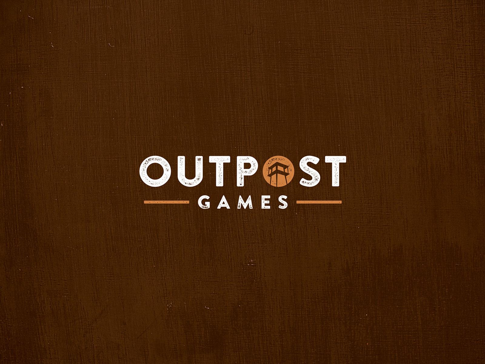 Outpost games logo design1
