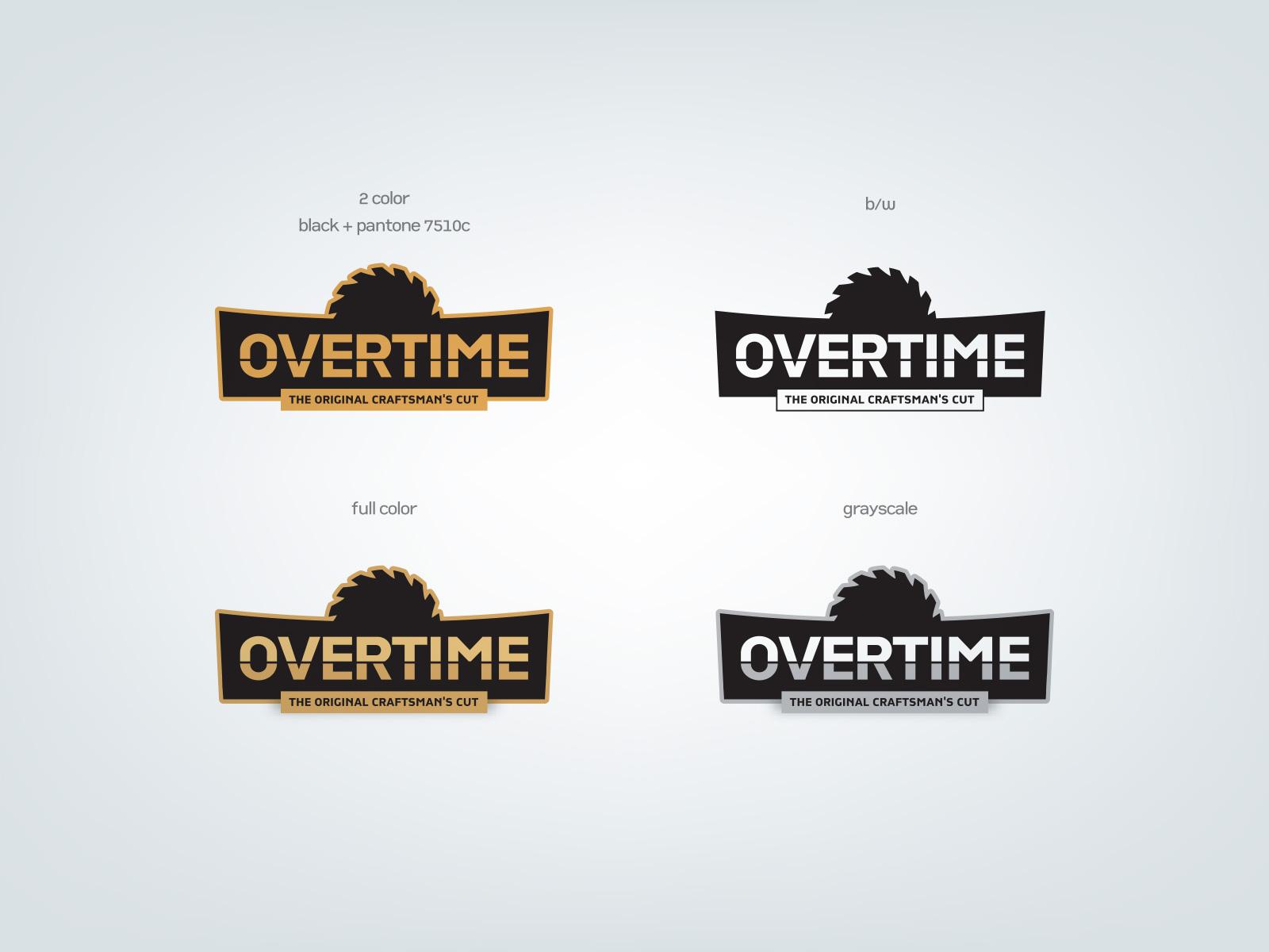 Overtime logos