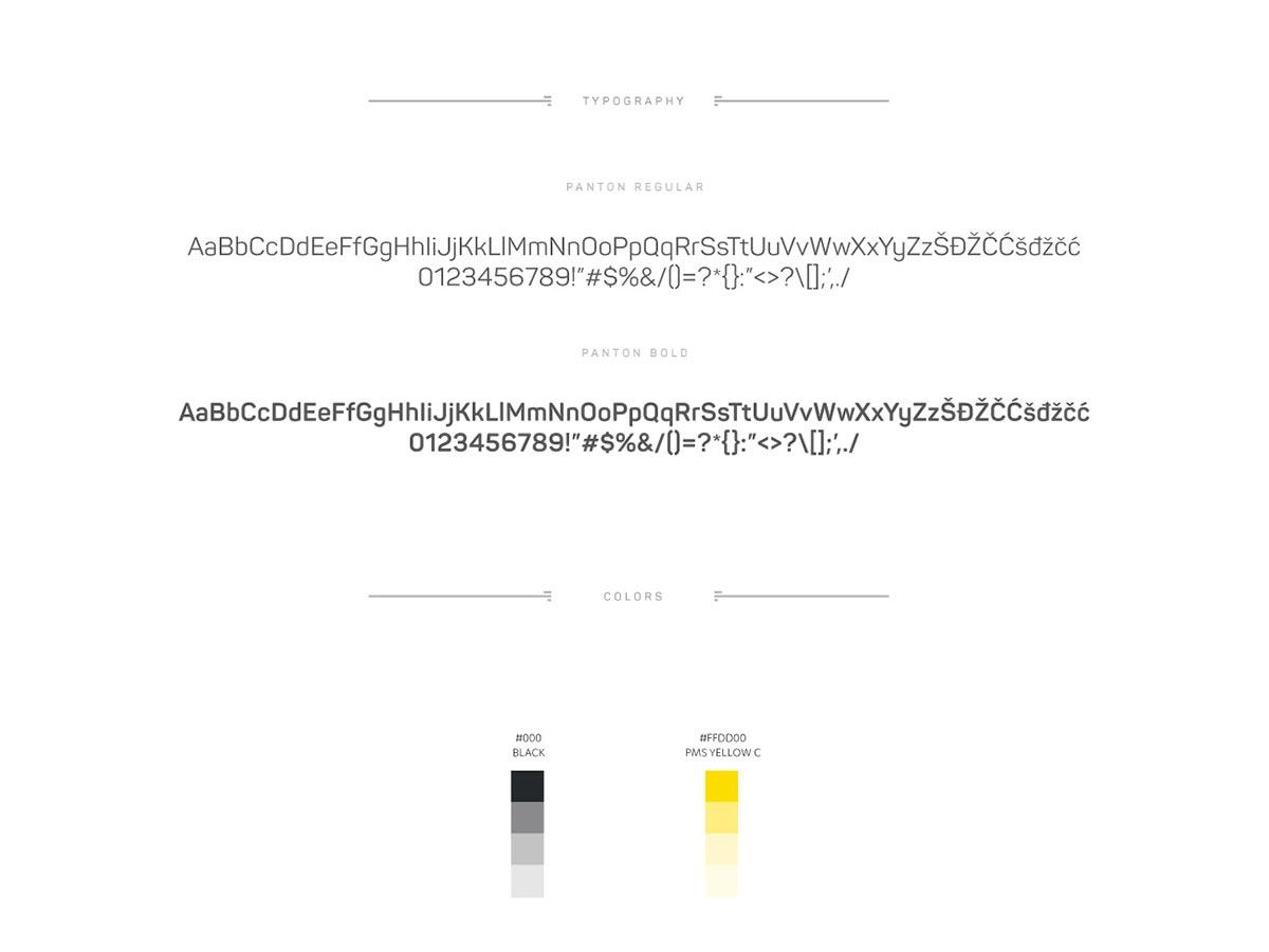 Presscode typography colors