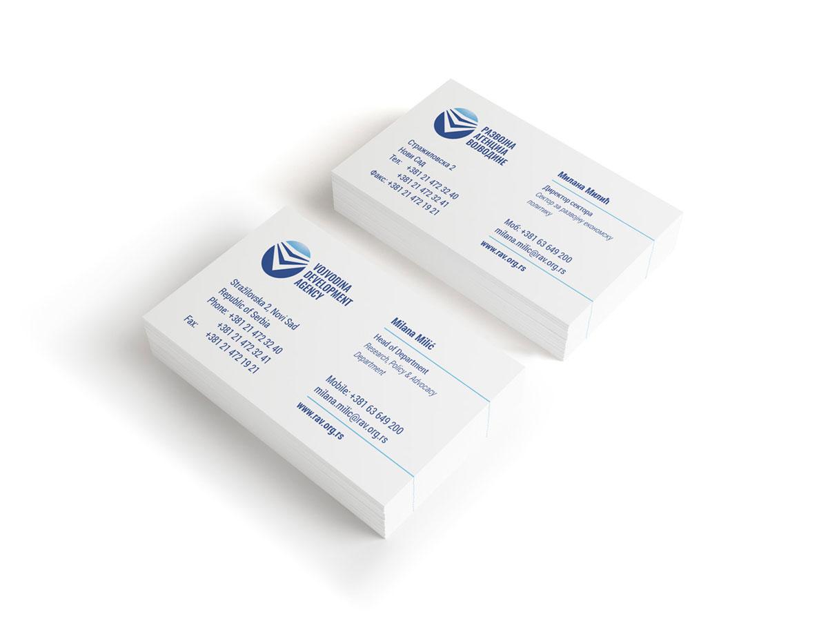 Rav business cards