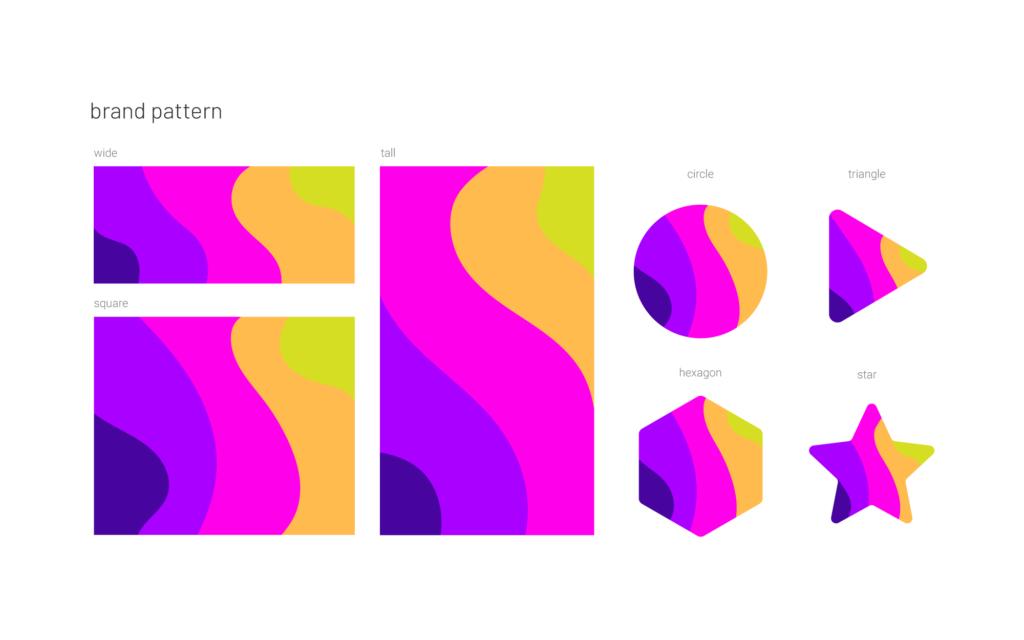 Soniq brand pattern