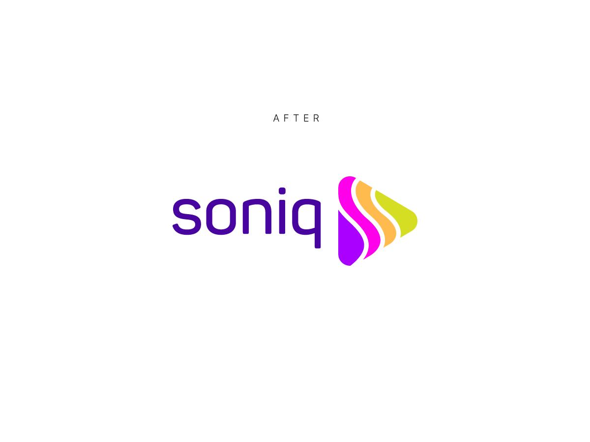 Soniq logo after