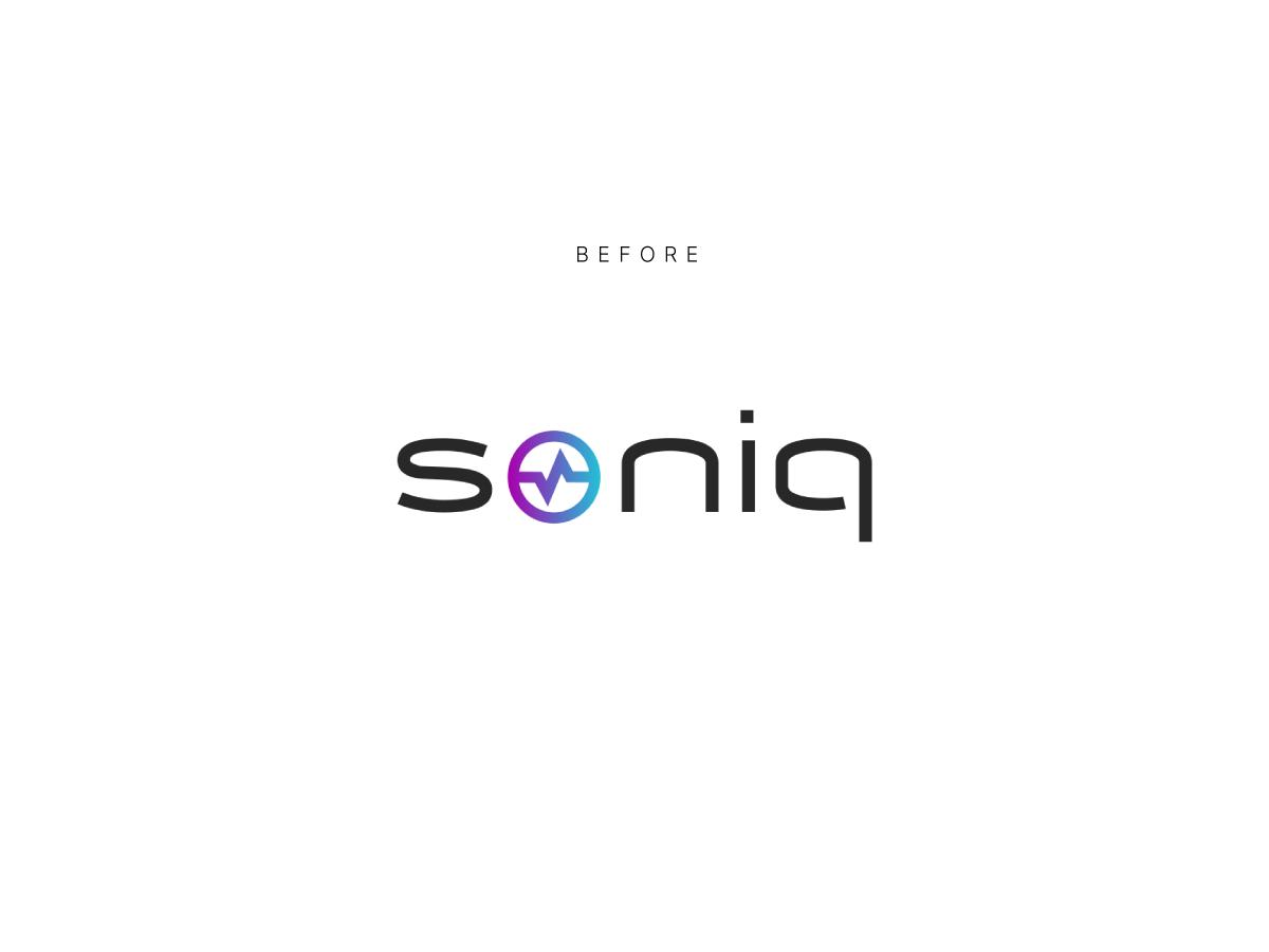Soniq logo before