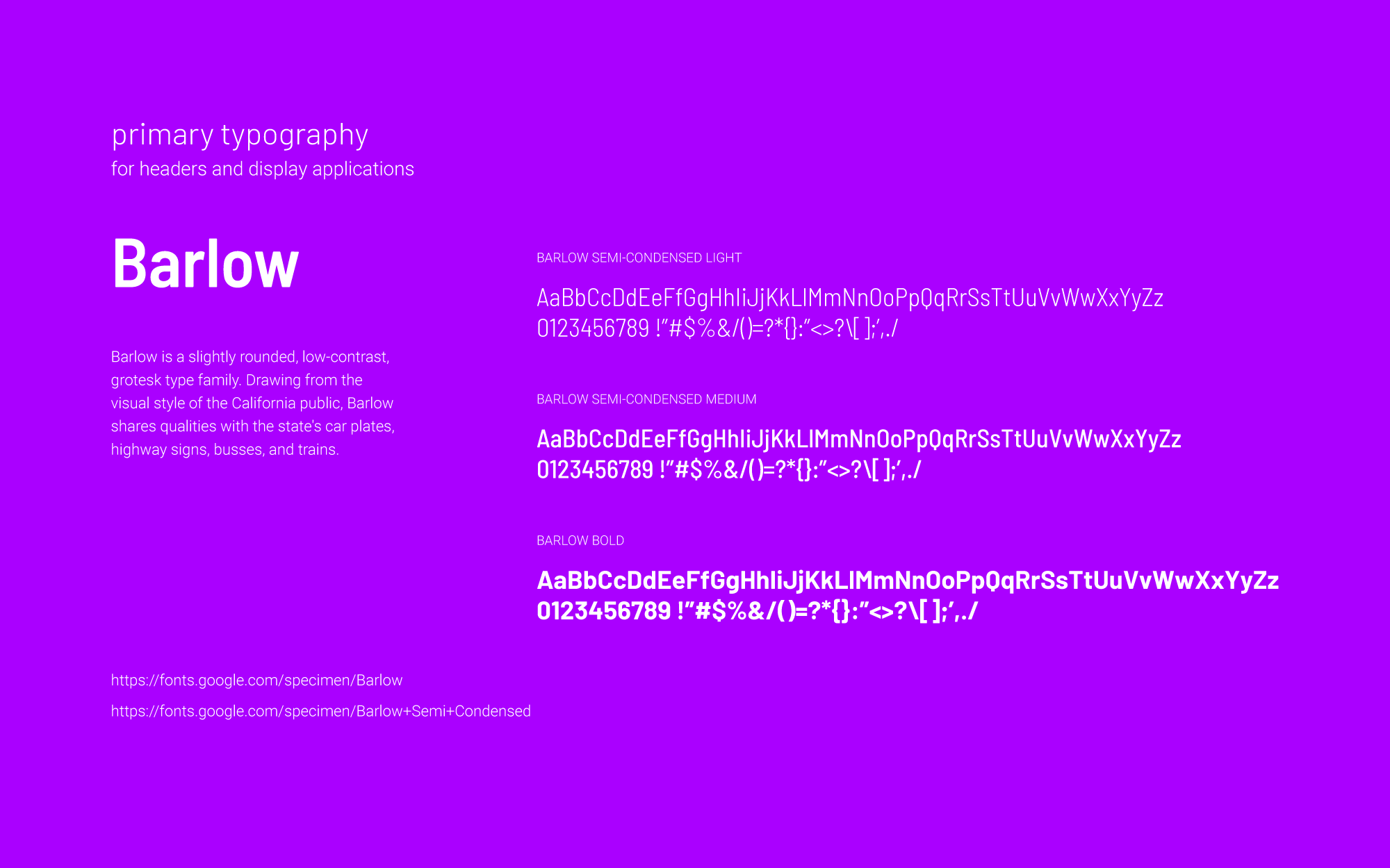 Soniq typography2