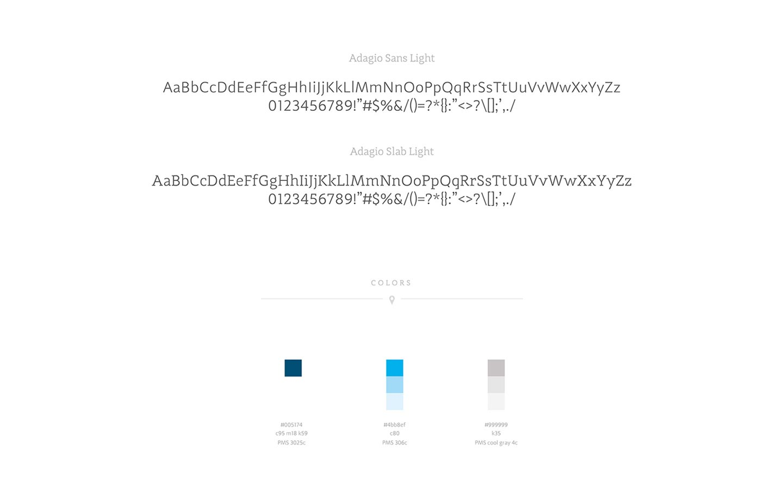 Spalneo typography colors