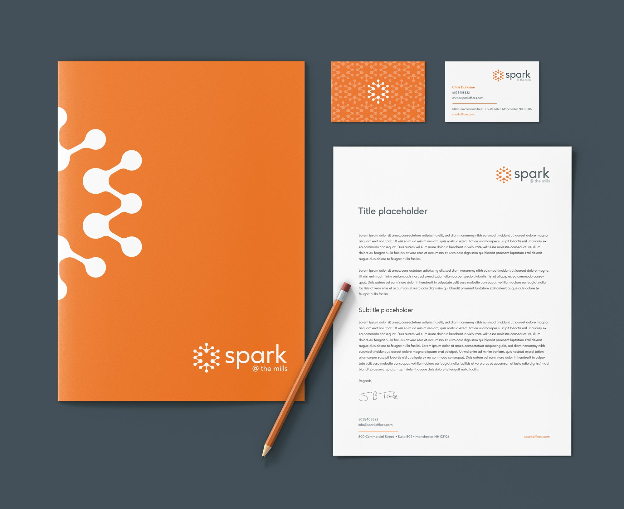 Spark brand id2