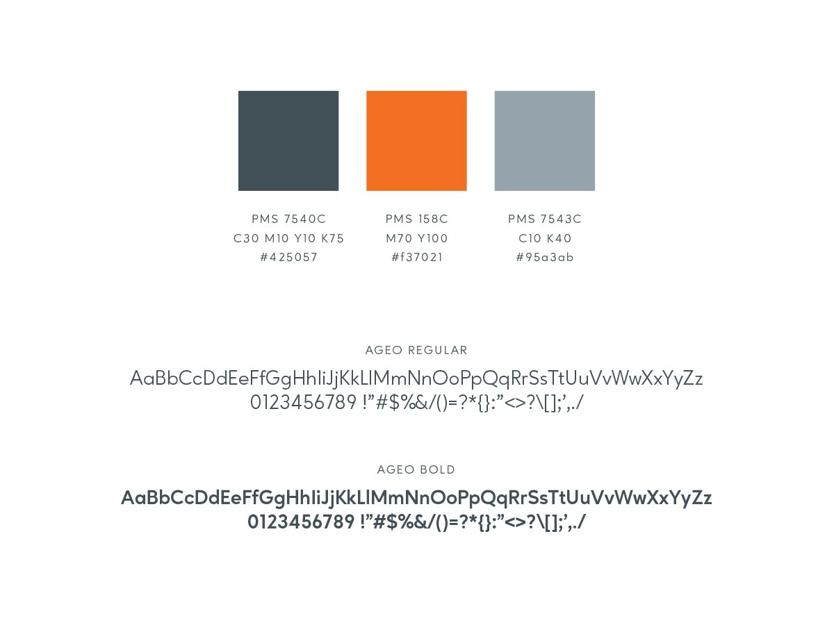 Spark colors typography