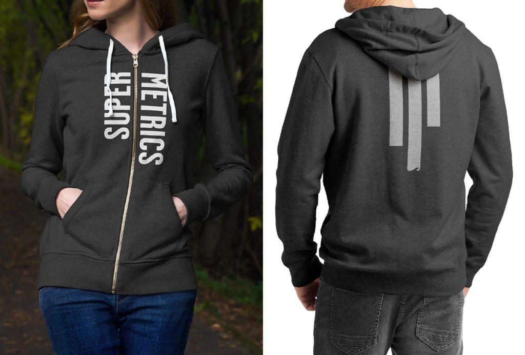 Supermetrics hoodie