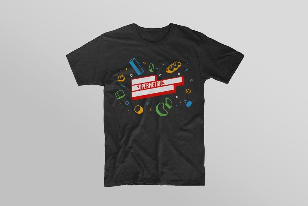 Supermetrics t shirt