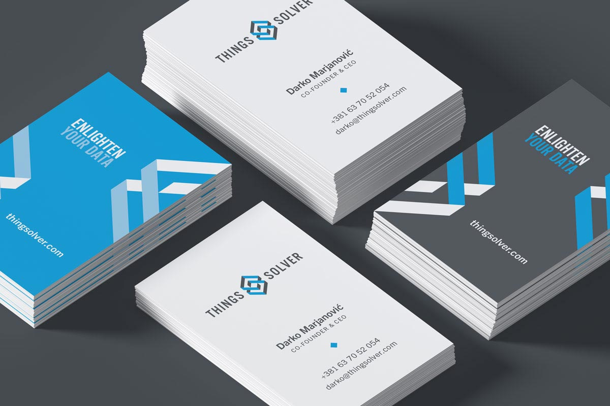 Things solver business cards