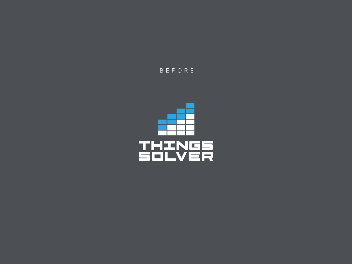 Things solver logo before