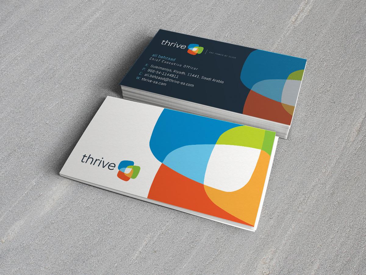 Thrive sa business cards