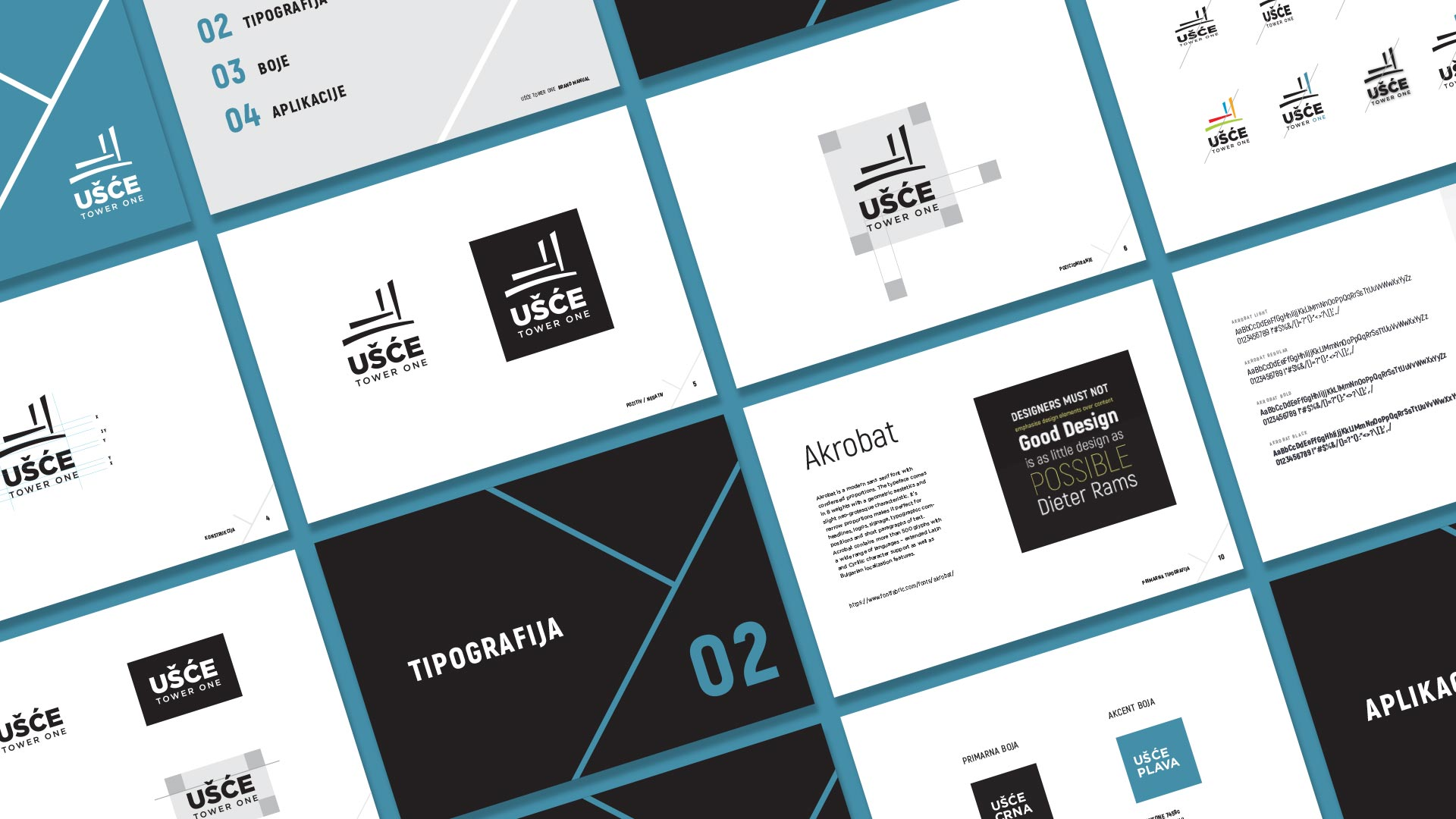 Usce tower one brand manual