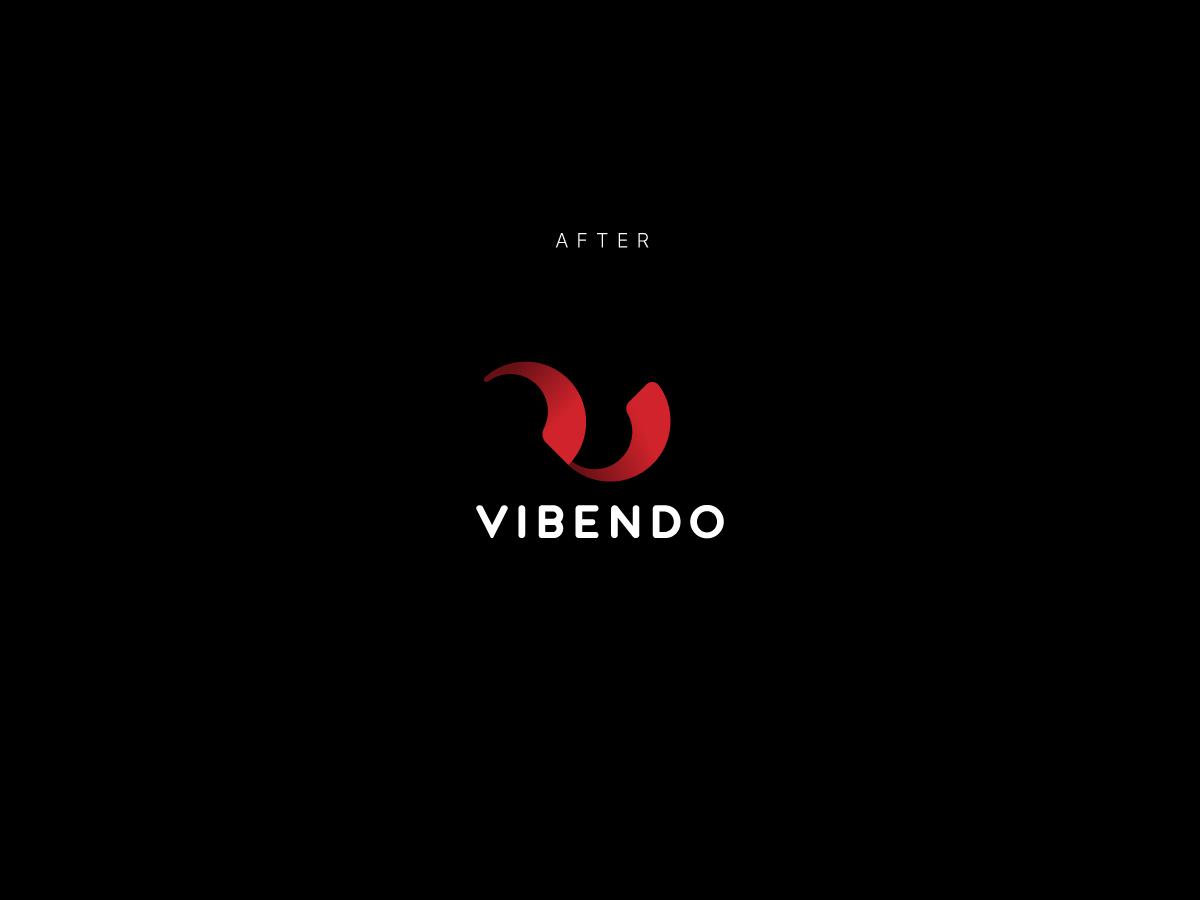 Vibendo logo after