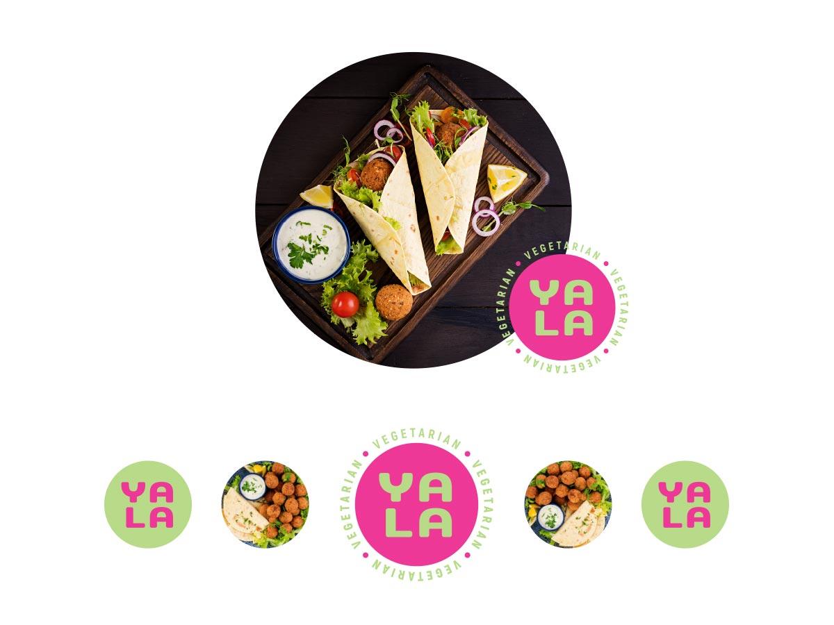 Yala logo application