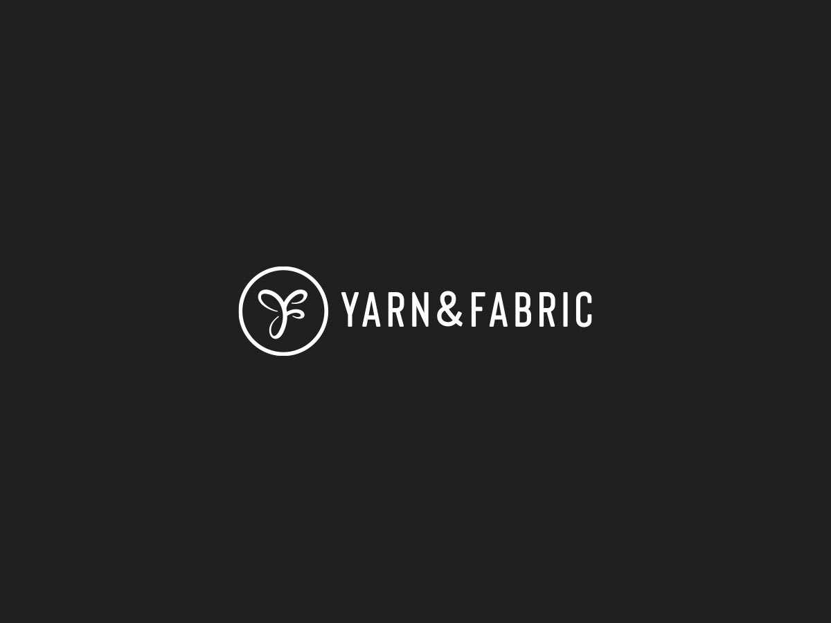 Yarn fabric logo